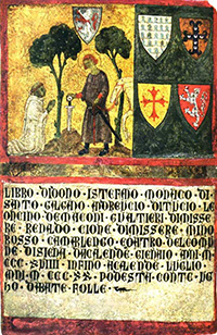SanGalganowiththesword in the stone, anonymous painter, Archivio di Stato di Siena Museo delle biccherne