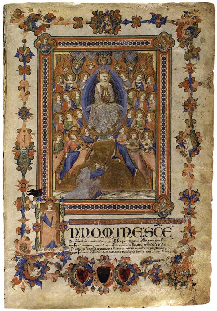 Niccolò di ser Sozzo , IlCaleffo dell'Assunta, Archivio di Stato di Siena