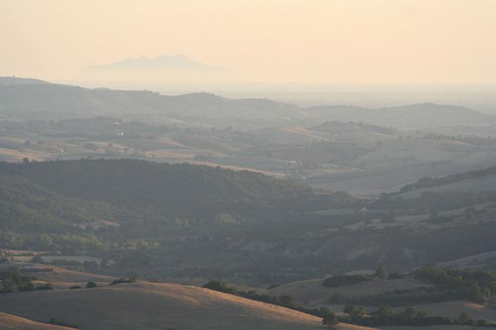 Adembenemend uitzicht op de Toscaanse Maremma