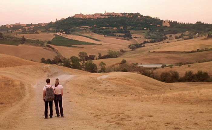 Heaven, Philippa and Filippo reach the Tuscan town of Montepulciano