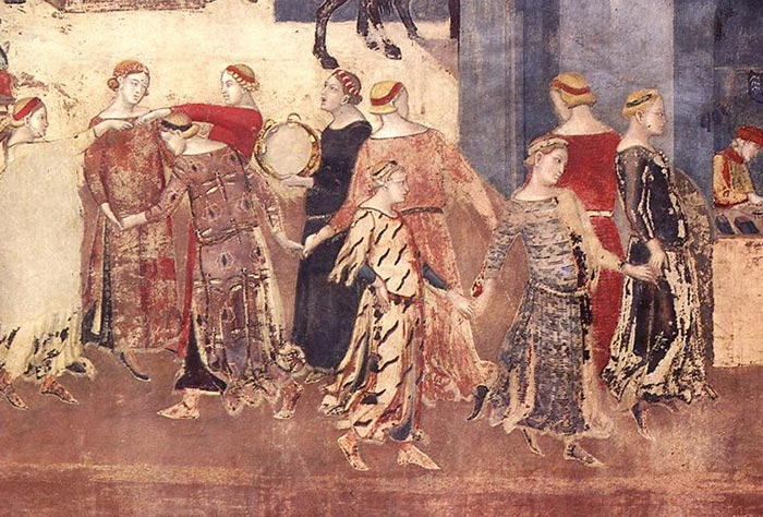 Ambrogio Lorenzetti Allegory And Effects Of Good And Bad Government