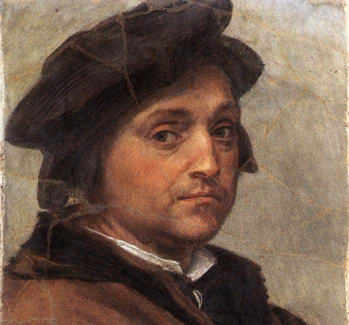 Andrea del Sarto, Self-portrait, oil on wood, 47 x 34 cm, Galleria degli Uffizi, Florence