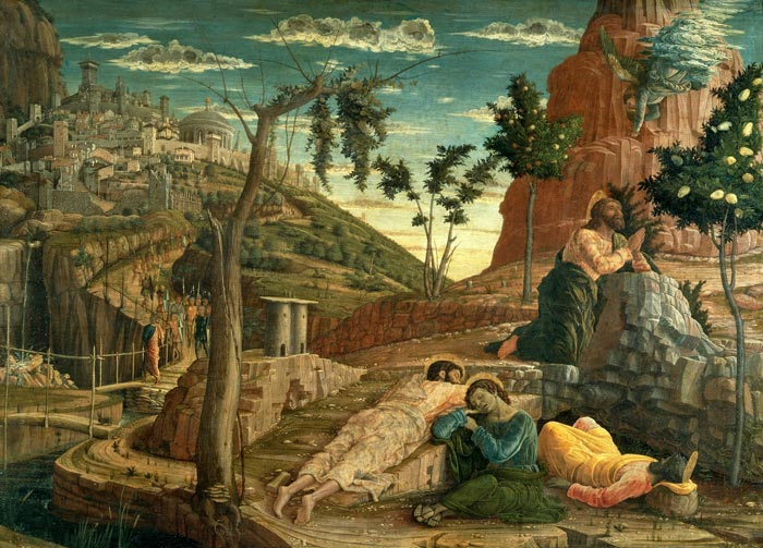andrea mantegna the agony in the garden 1457 1459 tours muse des beaux arts - Agony In The Garden