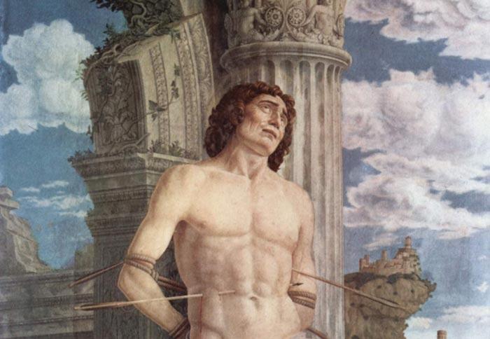Andrea Mantegna, The martyrdom of Saint Sebastian | Art in ...