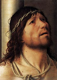 Antonello da Messina, Christ at the Column, c. 1476, Musée du Louvre, Paris