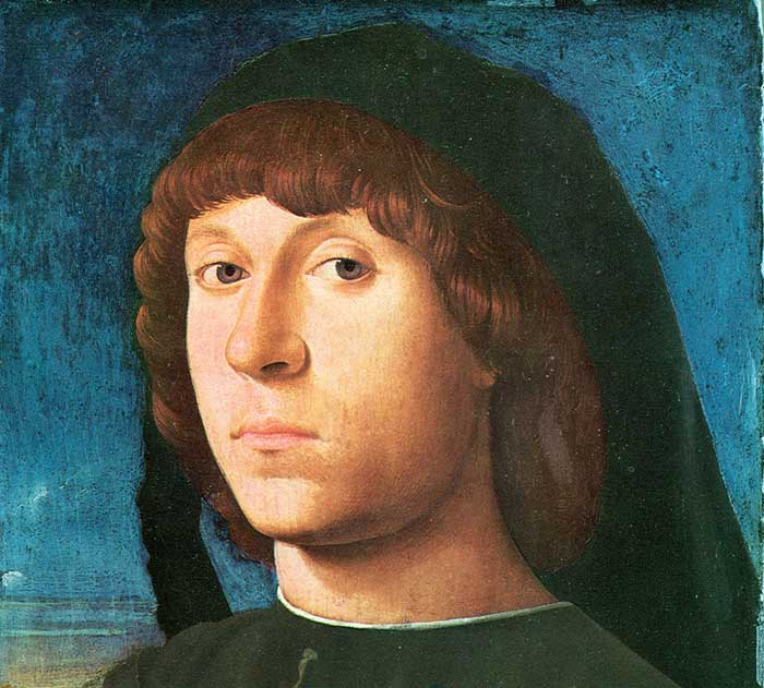 Antonello da Messina, Portrait of a Man