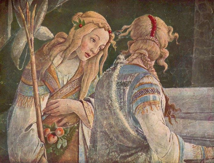 Sandro Botticelli | Art in Tuscany | Podere Santa Pia