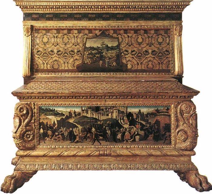 Art In Tuscany Italian Renaissance Cassoni Paintings Podere