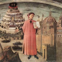 Domenico di Michelino, Dante and the Three Kingdoms, 1465