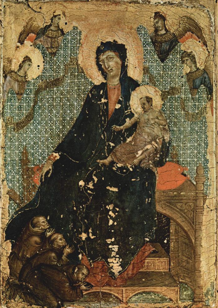 madonna and child duccio