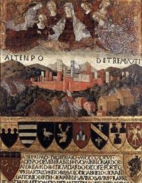 Francesco di Giorgio Martini, Madonna del Terremoto, 1467