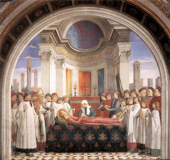 Image result for santa fina san gimignano ghirlandaio