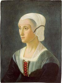 Portrait of Lucrezia Tornabuoni, attributed to Domenico Ghirlandaio