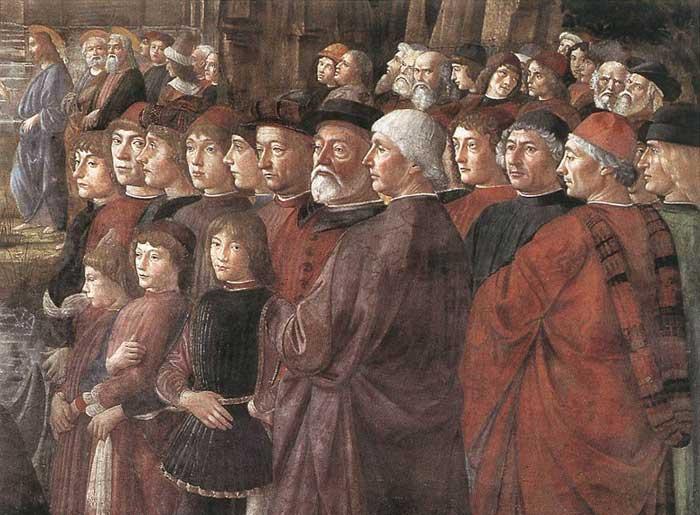 Frà Cipolla e la penna dell'Arcangelo Gabriele. Sistenechapel1700