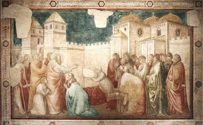 Art in Tuscany | Giotto di Bondone | The Peruzzi Chapel in