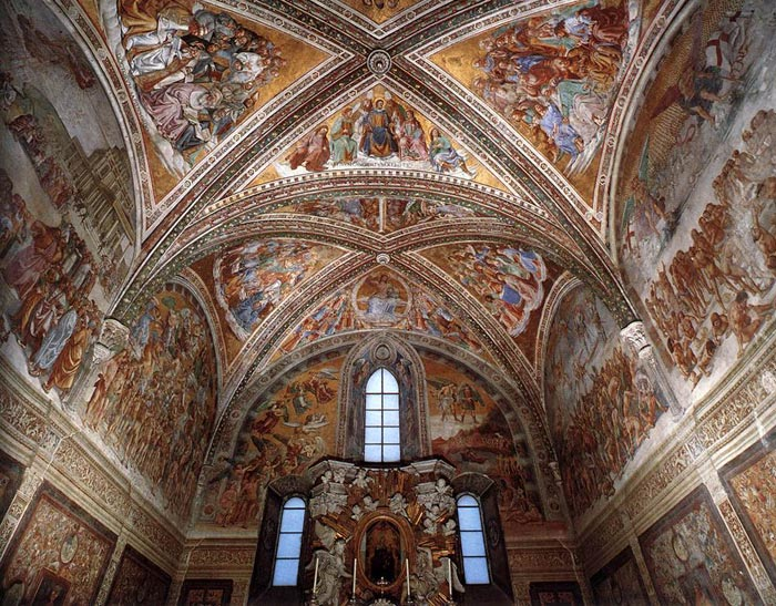 Luca Signorelli | Fresco Cycle in the San Brizio Chapel, Cathedral, Orvieto