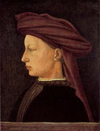 Masaccio, Portrait of a Young Man