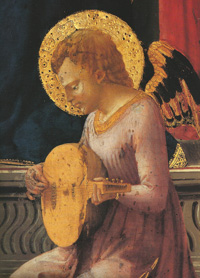 Masaccio, angel