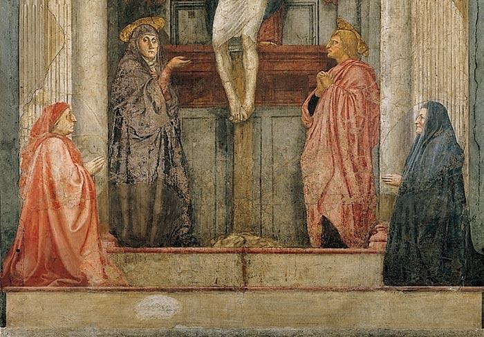 Art in Tuscany | Masaccio | Trinity, Santa Maria Novella