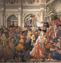 Matteo di Giovanni, Massacre of the Innocents, Massacre of the Innocents, 1482, The Chapel of our Lady, Ospedale Santa Maria della Scala, Siena