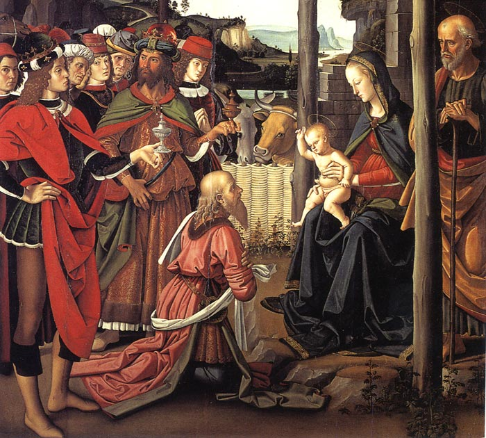 Adorazione dei Magi Adoration1700