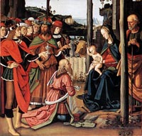 Il Perugino, Adoration of the Magi