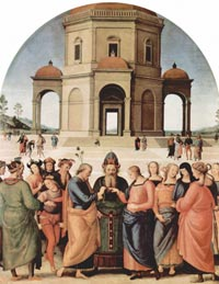 Perugino, The Marriage of the Virgin
