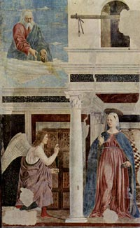 Piero della Francesca, The Annunciation to Mary