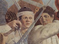 Piero della Francesca, Battle between Heraclius and Chosroes