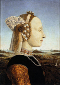 Piero della Francesca, Portraits of Federico da Montefeltro and His Wife Battista Sforza