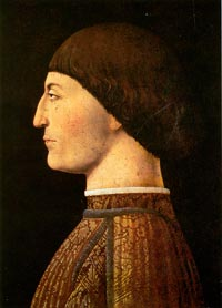 Piero della Francesca, Portrait of Sigismondo Pandolfo Malatesta