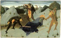 Sassetta, Saint Antony Beaten by the Devils