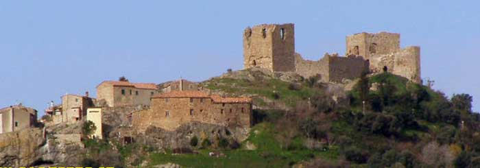 the castle of Montemassi