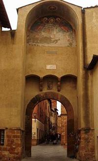 Porta al Prato o porta al Murello, Pienza