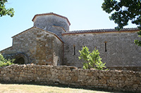 The Abbey of Santa Maria Assunta, a Romanesque church in the surroundings of Colle Val d'Elsa