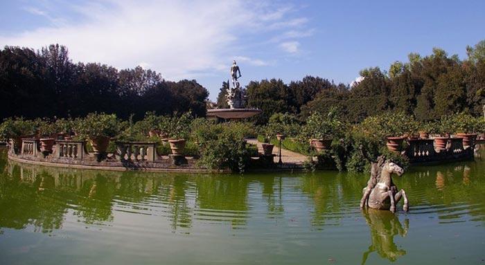 Gardens In Tuscany I Giardini Di Boboli Bobolis Gardens