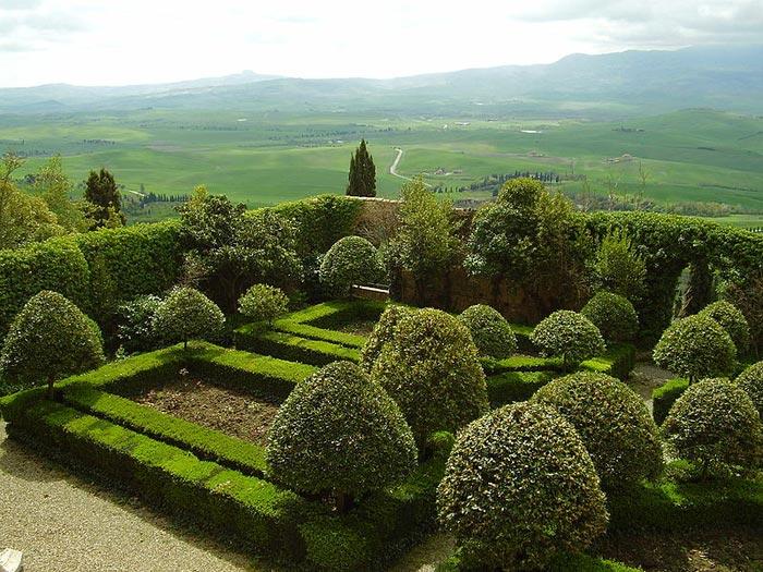 Set Da Giardino In Bamboo.Tuscany Travel Guide Gardens In Tuscany Italian Villas And Their