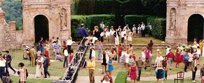 Stealing Beauty, the set in Villa Geggiano
