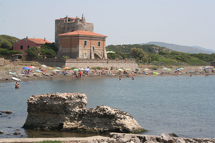 Puccini Tower and beach
