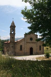 Pieve di Santa Maria ad Làmulas, Montelaterone