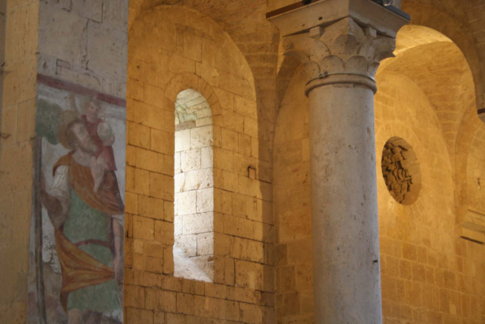 The Abbey of Sant'Antimo | Interior