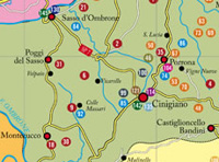 Strada del vino Montecucco