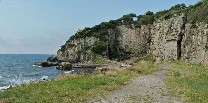 Ansedonia, Taglia Etrusca