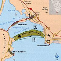 Mappa Tombolo Feniglia
