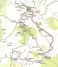 Wandern: Toskana | Von Montalcino nach St. Antimo