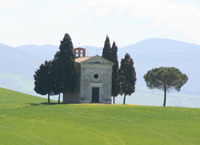 San Quirico d'Orcia, Capella della Madonna di Vitaleta