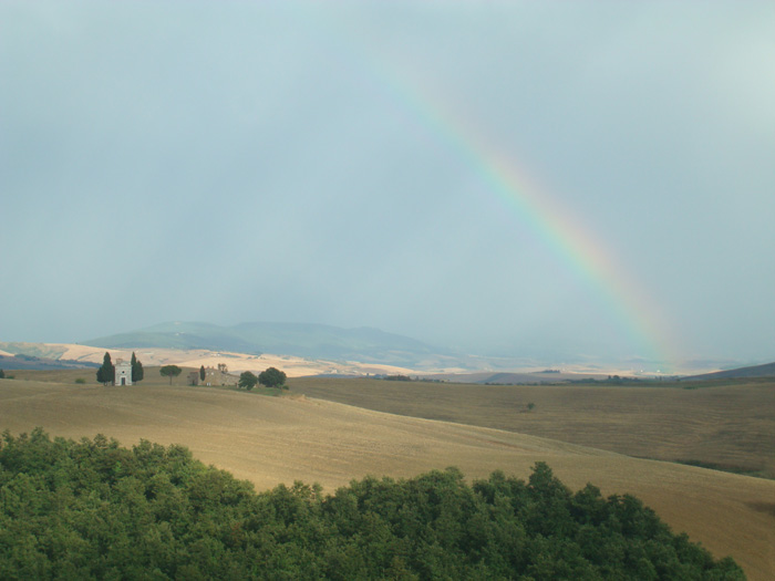 The Chapel of Our Lady of Vitaleta, San Quirico d'Orcia